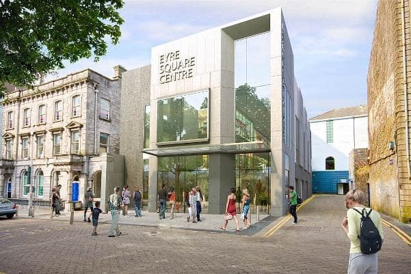 Douglas Wallace Eyre Square Galway exterior building
